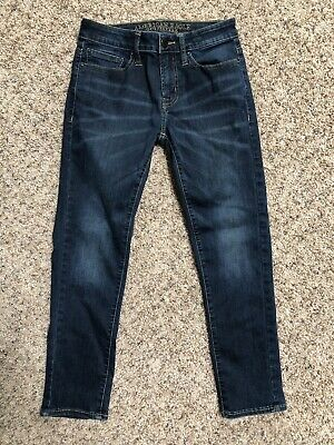 American Eagle Outfitters Mens Jeans 28 Skinny Extreme Flex Dark Wash