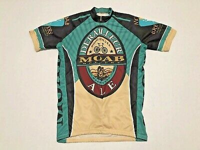 NEW World Jerseys Moab Brewery Especial Men/'s Cycling Jersey Black MD