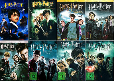 HARRY POTTER --- The Complete Collection --- alle 8 Filme --- Kultfilme ---