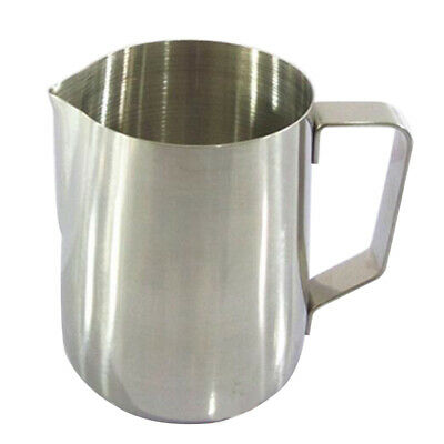 Espresso Coffee Foaming Stainless Steel Milk Frothing Pitcher Jug 5 12 20 33oz