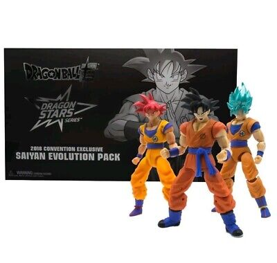 Sdcc Comic Con 2018 Bandai Dragon Ball Z Star Series Evolution Pack (Sealed)