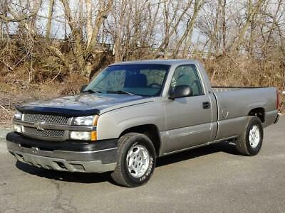 2003 Chevrolet Silverado 1500 LS LONG BED PICKUP TRUCK 2ND-OWNER! 93K Mls! LOW MILES REGULAR CAB TOW BAR CHROME BUMPERS USB/AUX-INPUT RUNS DRIVES GREAT