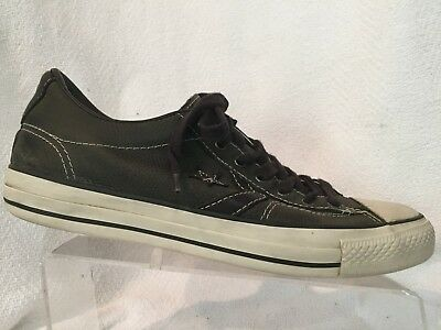 b7061ef9bffc Converse All Star by John Varvatos Gray Leather Star Player EV Low Top Mens  10.5