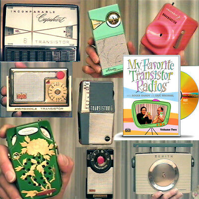 Transistor Radios DVD video VOLUME 2 with collectors Roger Handy & Eric Wrobbel