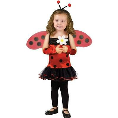 11 x  Fun World LadyBird LadyBug Toddler Childrens Fancy Dress Costumes