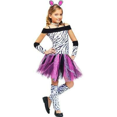 5 x  Fun World  Zebra Childrens Fancy Dress Costumes