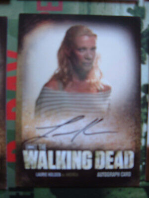 Walking Dead Series 2 Laurie Holden Autograph Card A13 as Andrea