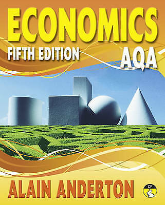 AQA A Level Economics Student Book by Alain Anderton (Paperback, 2008)