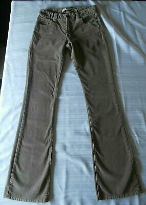 GAP Curvy Low Rise Brown Corduroy Jeans (4L)