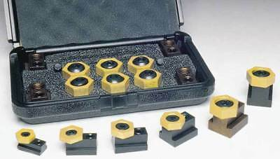"Mitee-Bite 9/16"" x 3/8""-16 Workholding T-Slot Clamping Kit-Holding Force 2000Lbs"