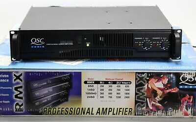 QSC RMX2450 STEREO POWER AMPLIFIER w/ box