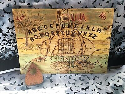 Ouija Board Custom Wood Burning