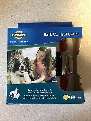 Petsafe Deluxe Bark Control Collar Static Correction Dogs PDBC-300 Waterproof