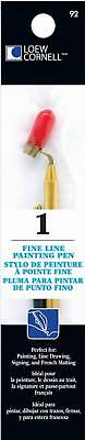 Loew-Cornell Fine Line Painting Paint Pen Draw For Students, Hobbyist New