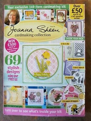Joanna Sheen Cardmaking Collection Magazine & Kit - Issue 4. Easter/Mother's Day