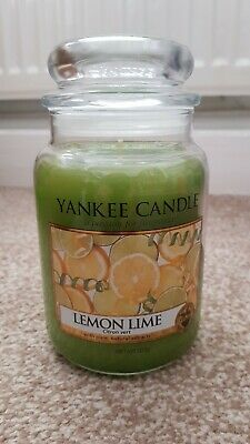 Yankee Candle Large Jar- Lemon Lime - New