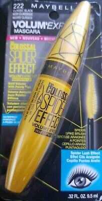 4170dc10e7e 2Maybelline Volum' Colossal Spider Effect Waterproof Mascara, #222 Classic  Black