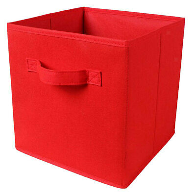 Foldable Storage Bins Boxes Cubes Container Organizer Baskets Fabric Drawers