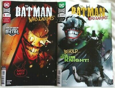 THE BATMAN WHO LAUGHS MINI-SERIES - ISSUES 1+2 (of 6), SNYDER/JOCK 99p Start!!