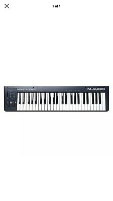 M Audio Keystation 49 MkII USB MIDI Keyboard Controller With Ableton Live Lite