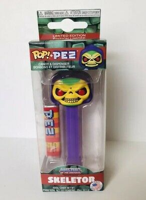 SKELETOR   * Funko Pop Pez Masters Of The Universe Mint in Box