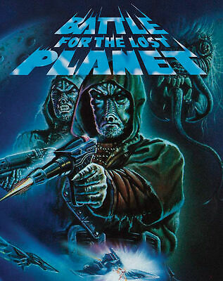 Battle for the Lost Planet / Mutant War bluray/dvd Vinegar Syndrome limited