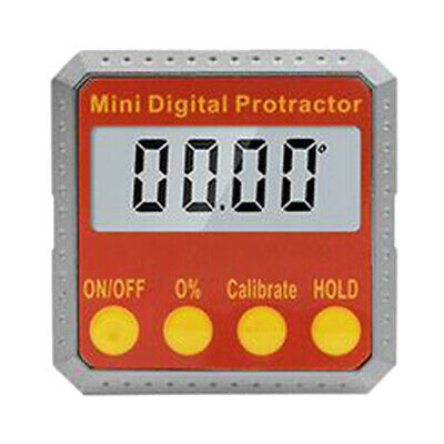 High Accurate Digital Protractor Angle Finder Gauge Magnetic LCD Display