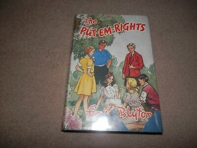 Enid Blyton The Put Em Rights 1st edition 3rd printing Lutterworth 1950 Hardback
