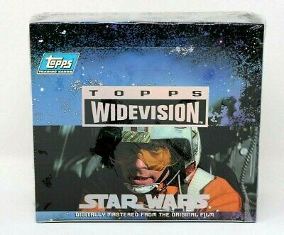 Star Wars A New Hope Widescreen 1994 Factory Sealed Box Topps Trading Cards