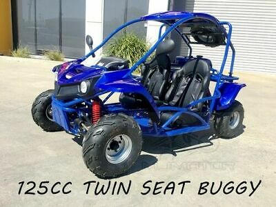 125CC SAHARA Offroad Dune Buggy Atv Quad Twin Seat Right-hand Drive 1FD With Rev