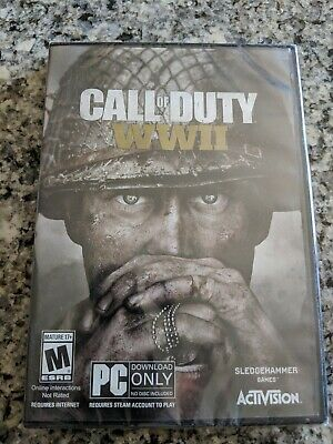 Call of Duty: WWII (PC, 2017) Factory Sealed New