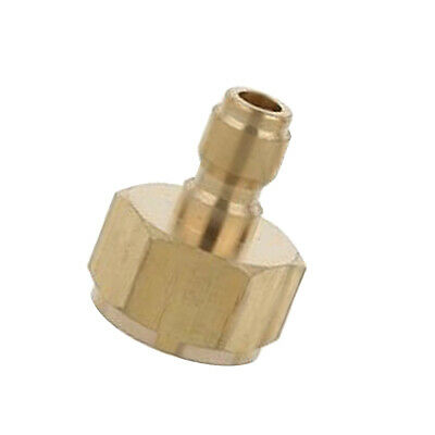 Quick Connect Coupler Adapter Car Clean Washing Pressure Washer Connector-#3