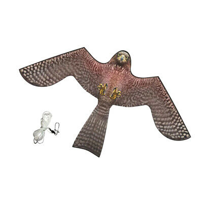 Bird's Scarer Repeller Flying Hawk Kite Garden Scarecrow Yard House Decor
