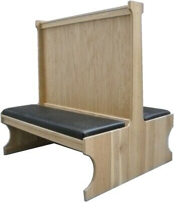 Oakbrook 5900D Restaurant Booth Double Wood seat/back