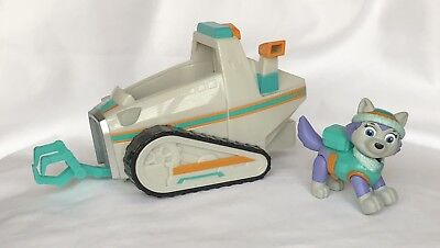 Paw Patrol Everest's Rescue Snowmobile Vehicle & Figure