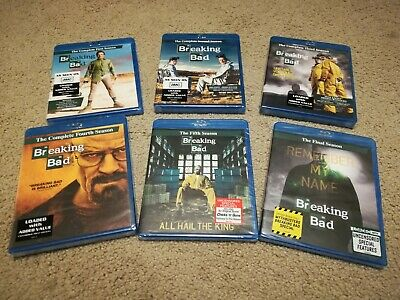 Breaking Bad Complete Series Blu-ray - Individual Factory Sealed Seasons