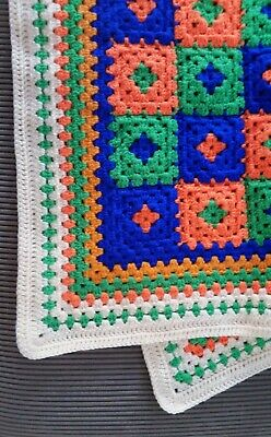 CHARMING Baby Boy Blanket Crochet Handmade - Perfect Gift for Born Baby
