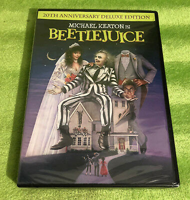 Beetlejuice (DVD, 2009, 20th Anniversary Deluxe Edition) Michael Keaton - NEW