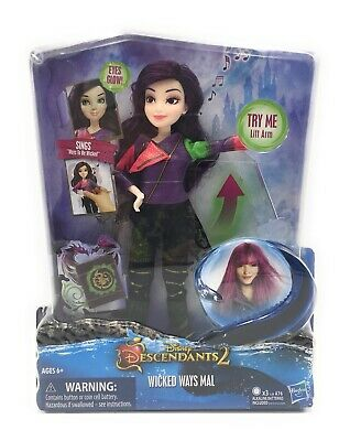 Disney Descendants 2 Wicked Ways Mal Doll