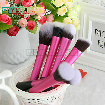 Pro Techniques Soft Foundation Makeup Blushes Face Powder Brush Cosmetic Tool AU