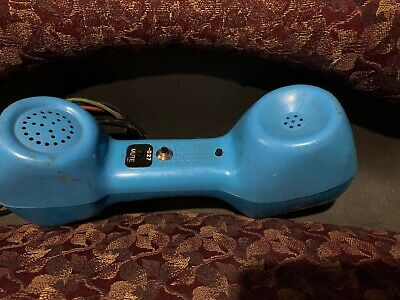 Vintage Dracon TS21 Telephone Telecom Butt Test Set Blue with leads @H