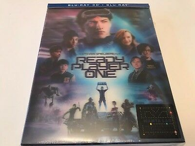 Ready Player One Double Lenticular 3D Blu-ray steelbook Manta Lab exclusive