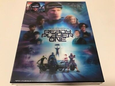 Ready Player One Double Lenticular 3D Blu-ray steelbook HDZeta exclusive