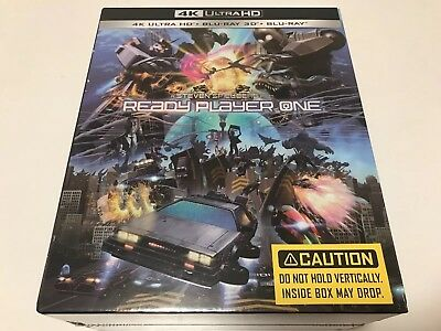 Ready Player One 1 Click Boxset 3D 4K UHD Blu-ray steelbook Manta Lab exclusive