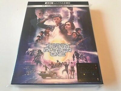 Ready Player One Full Slip 4K UHD Blu-ray steelbook Manta Lab exclusive