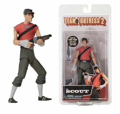 """NECA Team Fortress 2 Red Scout Series 4 7"""" Scale Action Figure"""
