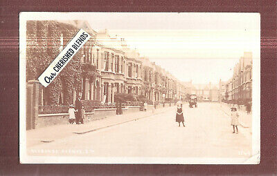 RP Narbonne Avenue Clapham South West London, SW4 by Card House used 1907