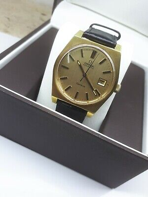 Omega Geneve Automatic Cal.1422 Men's Wrist Watch Swiss Vintage Gold.p Ω Date