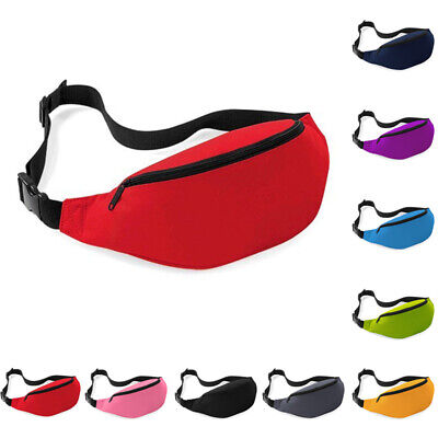 Polyester Travel Waist Money Belt Wallets Ticket Bum Bag Sport Fanny Pack Unisex