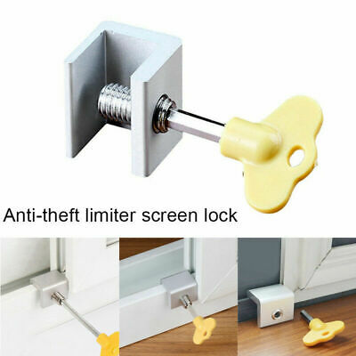 Sliding Door Window Safety Lock Security Slide Stopper For Home Child Adjustable